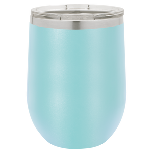 Mermaid Tail Personalized on 12 oz. Wine Tumbler