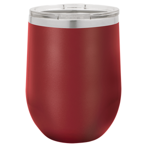 Classic Monogram on 12 oz. Wine Tumbler