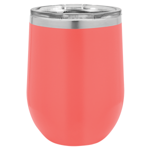 Faith, Hope and Love on 12 oz. Wine Tumbler