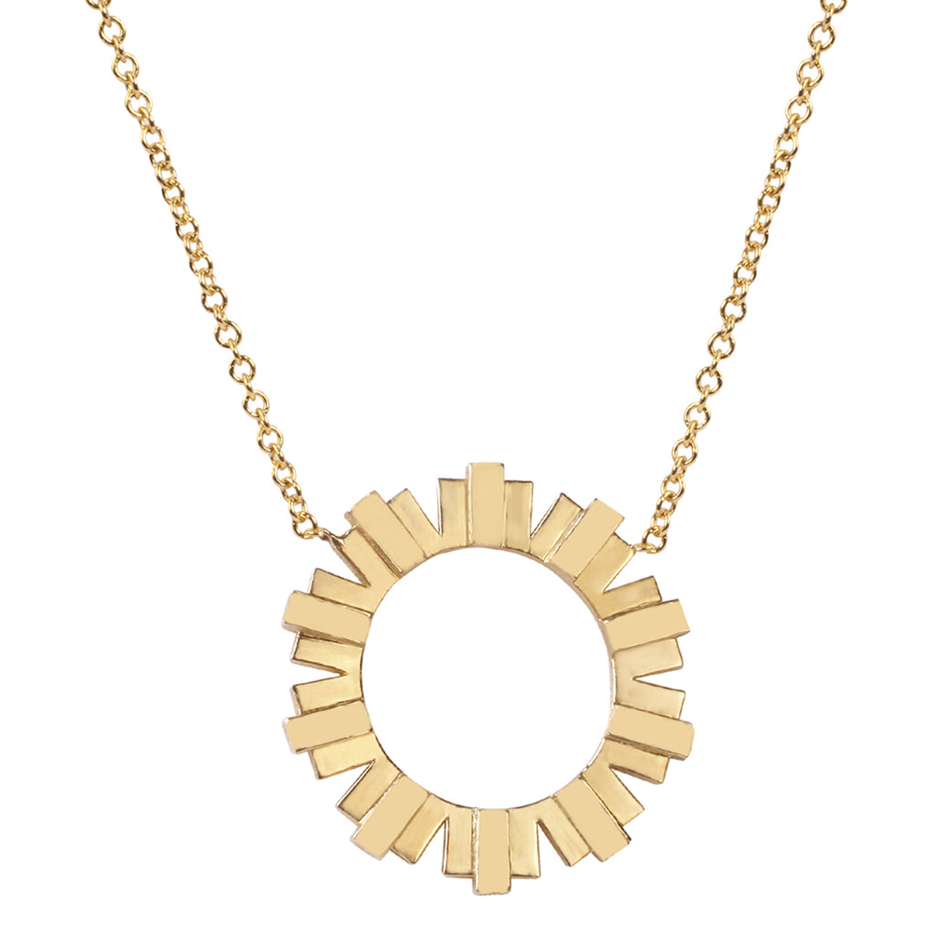 Sun Solid Necklace