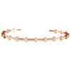 Rose Gold Achaemenid Diamond Bangle