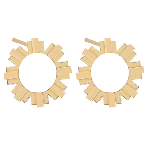 Sun Solid Earrings
