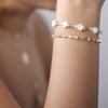 Rose Diamond Bangle