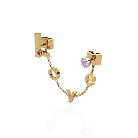 Dangling Love Earring