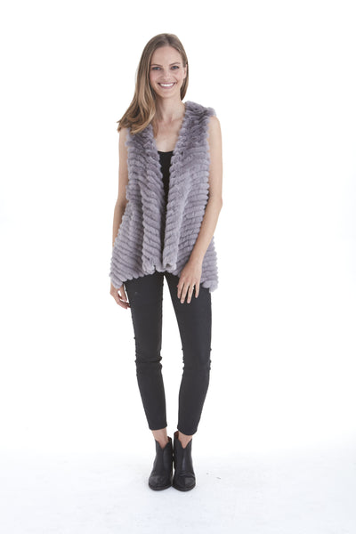 Layla Fur Vest | Love Token US