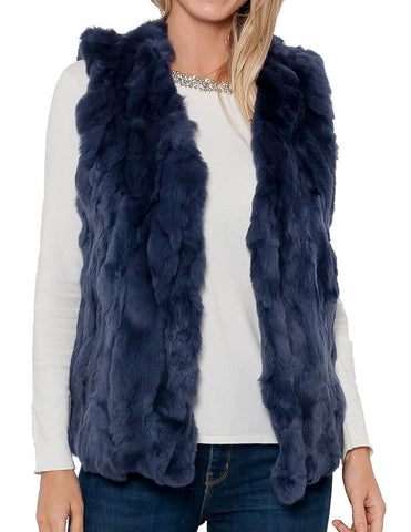 Lauren Rabbit Fur Vest