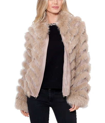 Julissa Fox Fur Jacket