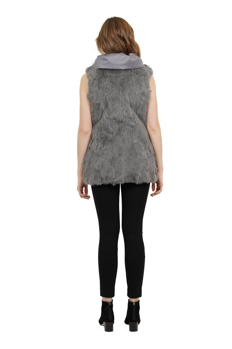 Nastia Reversible Genuine Fur Vest