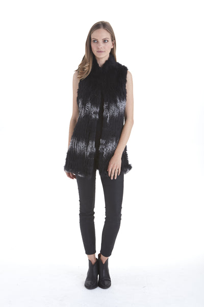 Giulia Fur Vest | Love Token US