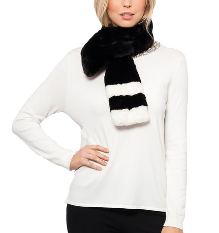 Judith Faux Fur Neck Scarf