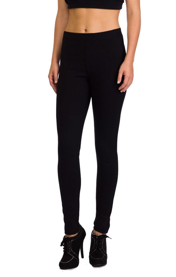 Paris Ponte Fitted Leggings
