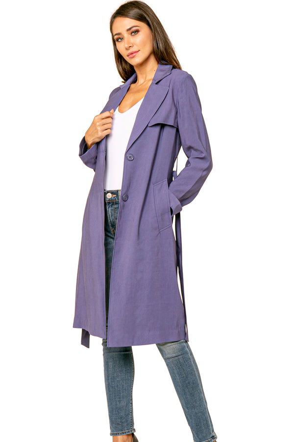 Nikko Long Trech Coat