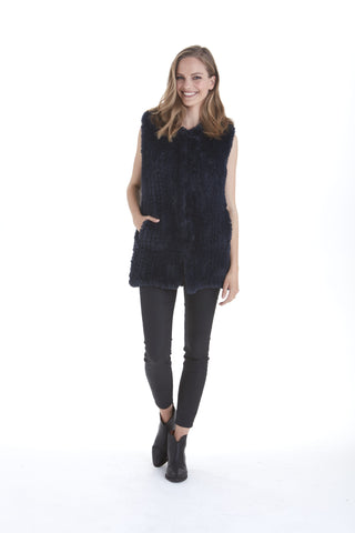 Naomi Faux Fur Vest | Love Token US