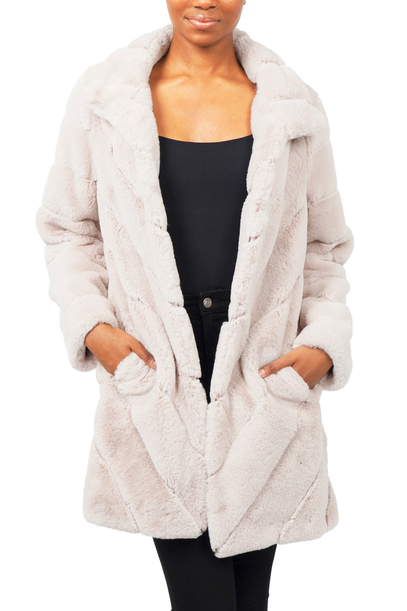 Misty Faux Fur Coat
