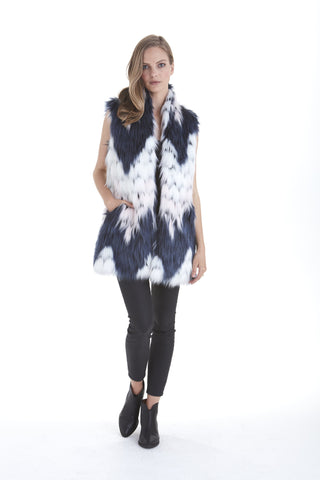 Faux Fur Vest | Love Token US