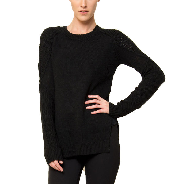 Penelope Side-Slit Sweater