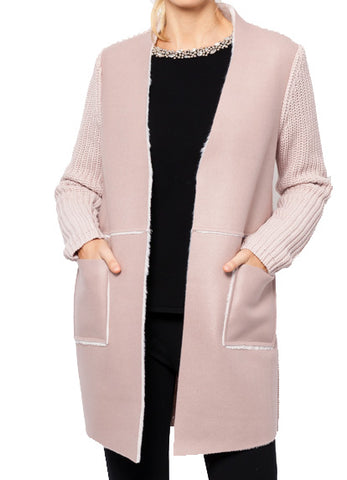 Raquel Cardigan with Faux Fur