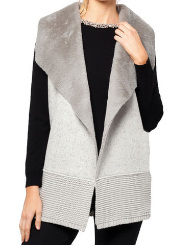 Mara Faux Stingray Vest