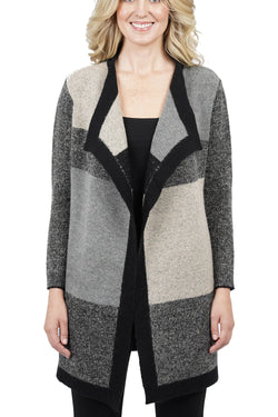 Lorelei Multi-Color Open Cardigan Jacket