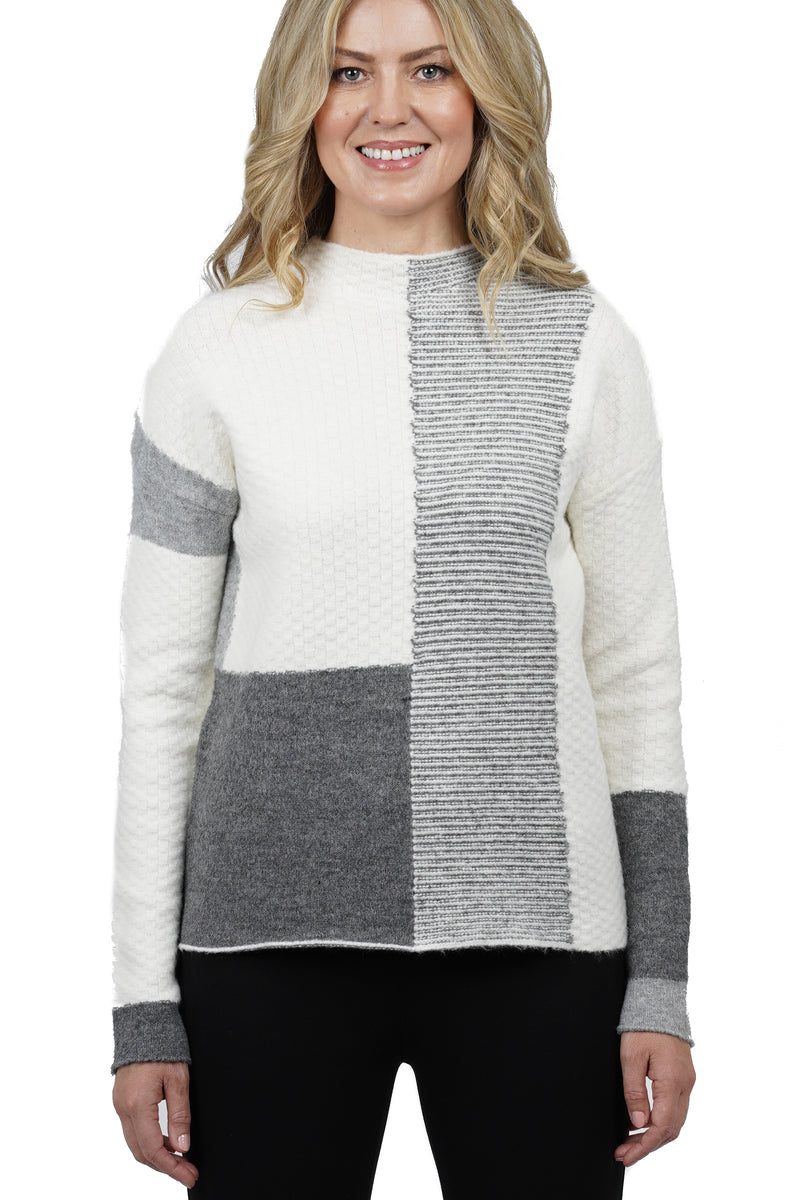Kassie Color Block Knit Sweater