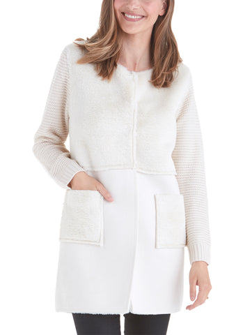 Nicole Knit Sleeves Jacket