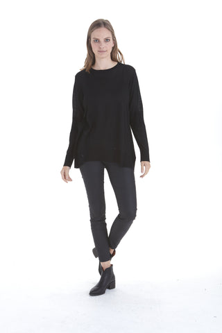 Kinley Open Elbow Sweater | Love Token US