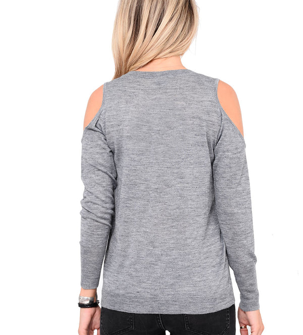 Sebastian Cold Shoulder Sweater