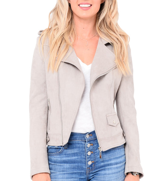 Ruby Ultra Soft Suede Jacket