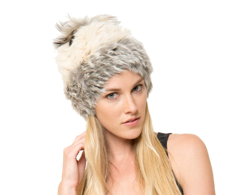 Mary Alan Fur Beanie