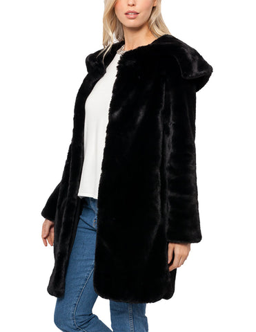 Lizzie Faux Fur Coat