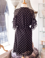 Sparkle Tea Dress - Black