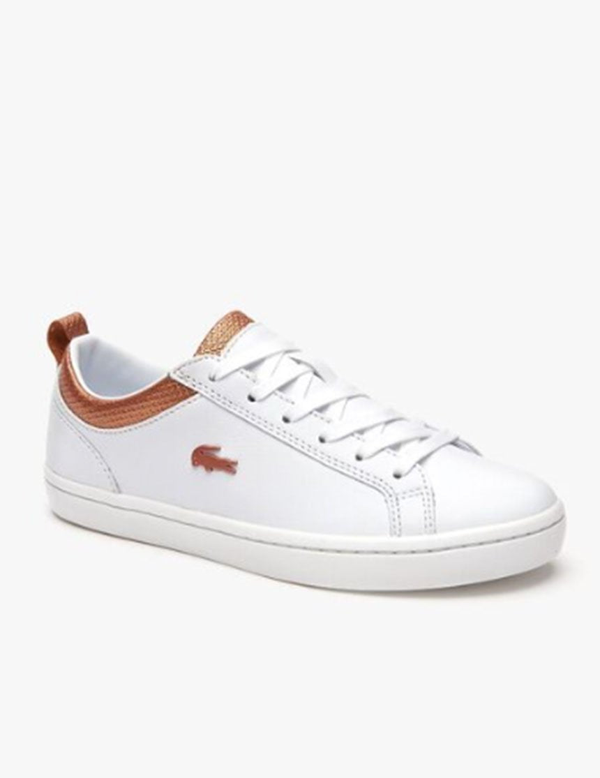 Straightset Sneakers - White/Copper