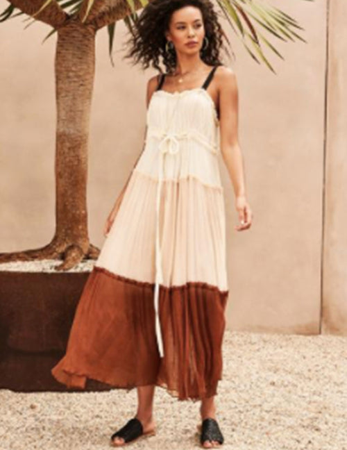 The Prarie Girl Maxi Dress