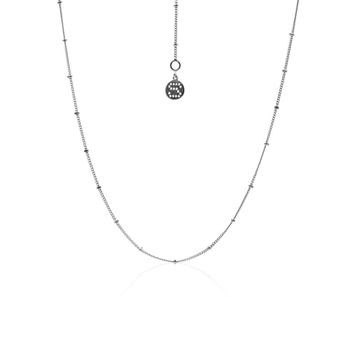 Tempo Silver necklace