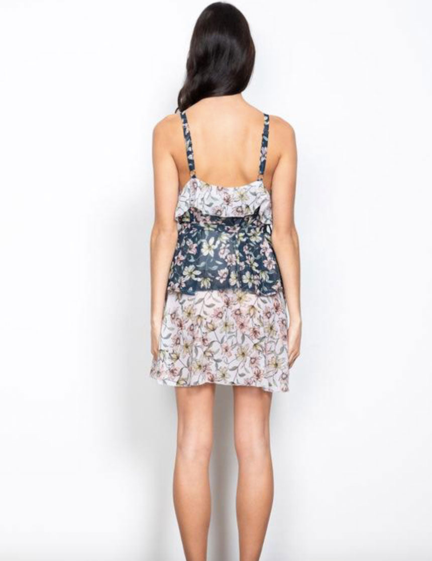 Posie Dress - Ink/White Floral