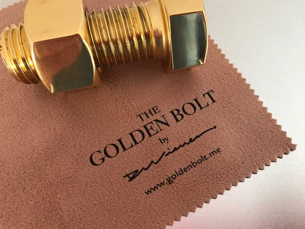 GOLDEN BOLT Customized With Your Logo (10 bolts minimum)