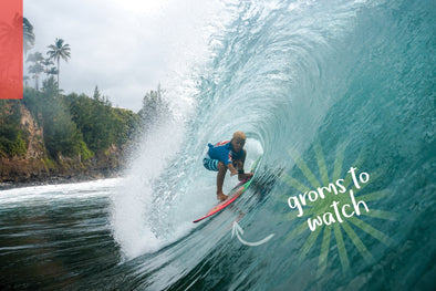 GROMS TO WATCH: DIESEL STORM NAINOA YOSHIO BUTTS