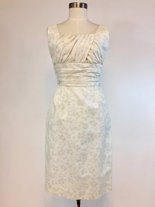 """Jacquie"" 1960s White Wedding Suit, Size M/L - Antiquaire Boutique"