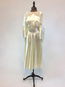"""Daphne"" 1920s/30s Wedding dress - Antiquaire Boutique"
