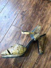1940s Snakeskin Shoes