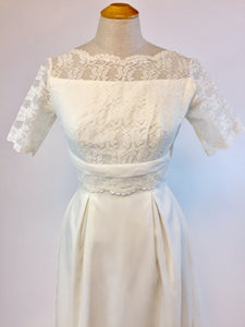Sweet Marie 1960s Wedding dress - Antiquaire Boutique