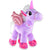 Purple Love Stuffed Unicorn Toy