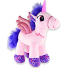 Pink Love Stuffed Unicorn Toy - Sku BTS-002742