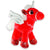 Red Love Stuffed Unicorn Toy