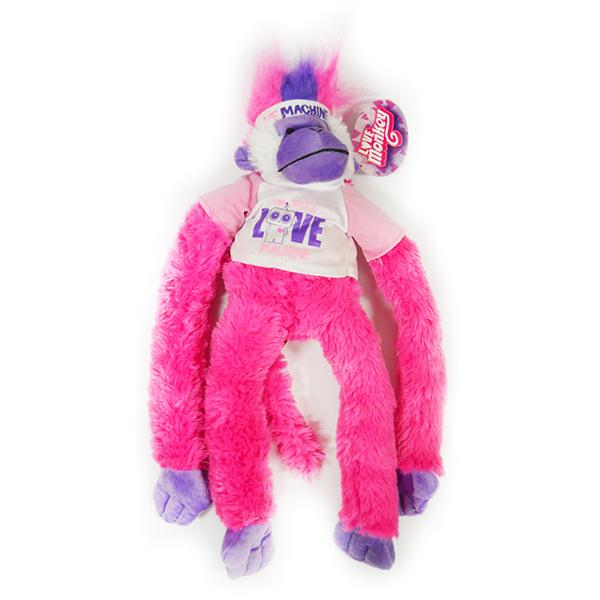 'I'm Just a Love Machine'' Plush Love Monkey - Item Number BTS-020141I