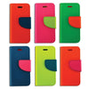 Neon Bookfold Cell Cases  (6 ct) - Bulk Toy Store