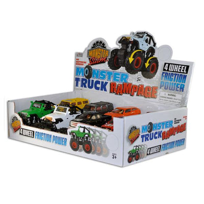 Monster Truck Rampage (8 ct) - Sku BTS-020472K