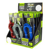 Braided Nylon Auxiliary Cables (12 per display) - Sku BTS-022377