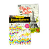Places & Music Adult Coloring Books (12ct) - Sku BTS-022947