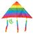 Rainbow Kites With Tails (12ct)